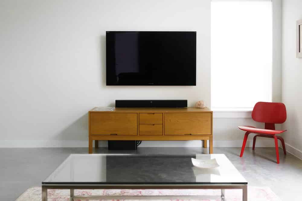 Another beautiful TV mounting by Modern TV & Audio, 480-405-0945